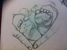 how to draw babies feet | Baby Feet by BrittanyHumble on DeviantArt