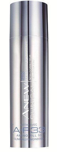 ANEW Clinical PRO Line Corrector Treatment with Voss Bottle, Water Bottle, Clinic, Nail Polish, Perfume, Cosmetics, Canning, Avon Products, Beauty
