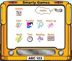 Smarty Games is a website full of great math, reading, time telling, etc. activities. This site works great with the SmartBoard and is full of great activities.
