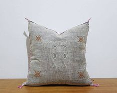 beautiful Moroccan handmade cactus silk pillow, decorative throw Pillow covers, Home Décor, CSP61