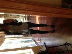 Vegas day outfit. Rich & Skinny coated skinnies, Joie tank, BCBG booties, misc jewelry.