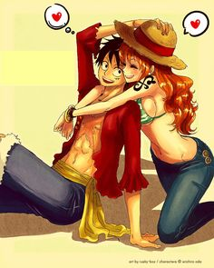 Nami and Luffy!