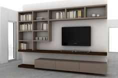 Home Trends 2020 Living Room Wall Units, Living Room Tv Unit Designs, Living Room Decor, Modern Tv Unit Designs, Modern Tv Wall Units, Tv Cabinet Design, Tv Wall Design, Tv Stand Unit, Muebles Living
