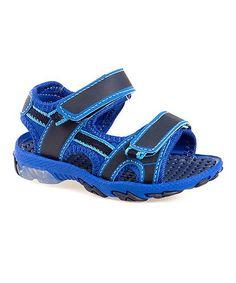 Navy & Blue Light-Up Sport Sandal