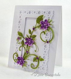 Flourish and Flowers by kittie747 - Cards and Paper Crafts at Splitcoaststampers