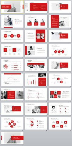 28+ Best company annual report charts PowerPoint Template