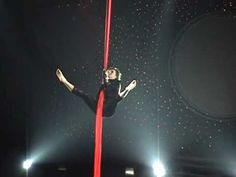 Aerial silks performance by Caroline Petrement to Metallica. Her stage presence and musicality is fantastic.
