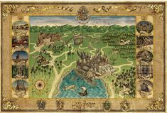 Hogwarts Map from MinaLima – The Harry Potter Lexicon