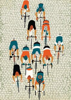 Spring Classics: Paris Roubaix by Eliza Southwood