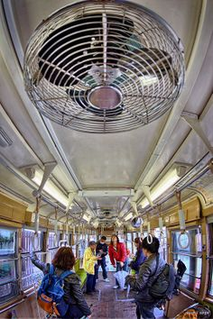 HDR Photo: Inside of a train