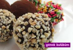 TARİF : Çikolatalı Toplar  #yemekkulubum