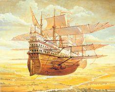 fantasy airship - Google Search