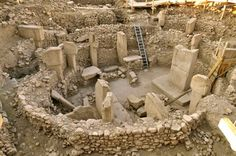 Gobekli-Tepe. The worlds oldest monolithic structure. Over 7000 yrs. older than the Great Pyramid of Giza and Stonehenge. Built around 10,000 bce in an era known as PPN(pre-pottery neolithic)A It predates metallurgy, pottery, and the agricultural revolution. Meaning this was built when the worlds population was still hunter-gatherer tribes. There is no evidence of occupancy, only religious practices. Making this the worlds first man-made monument to some celestial being or belief.
