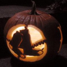 Boston Red Sox Pumpkin  ***Should have been displayed next to our Pedro Martinez Scarecrow...