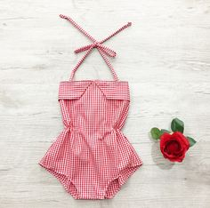 Gorgeous summer style romper, perfect for your little lady's summer wardrobe.