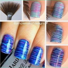 Paintbrush nails