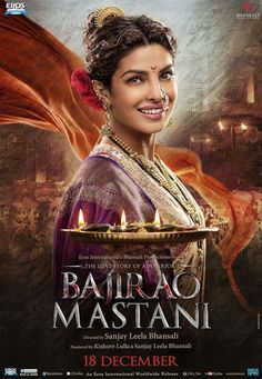 Priyanka Chopra as Kashibai | A Sweeping Saga of Love, War and Politics: Bajirao Mastani http://www.fallinginlovewithbollywood.com/2015/12/a-sweeping-saga-love-war-and-politics-bajirao-mastani.html