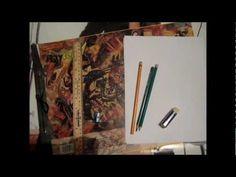 Curso de dibujo a lápiz cap. 0 (Materiales) - YouTube