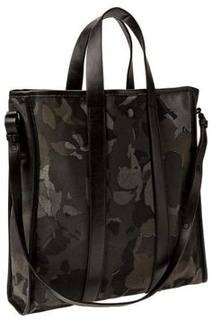Great for Fall... Floral camo khaki tote
