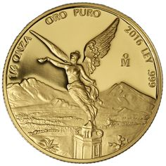2016 1/4 oz Proof Mexican Gold Libertad Coins from JM Bullion™