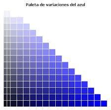 Resultado de imagen para azul indigo color