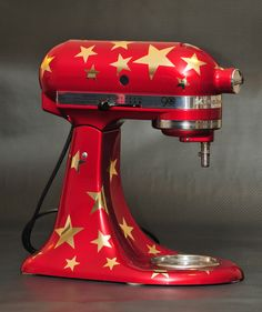 Stand Mixer Gold Star Decal Set KitchenAid Mixer by SweetRevelry, $15.00