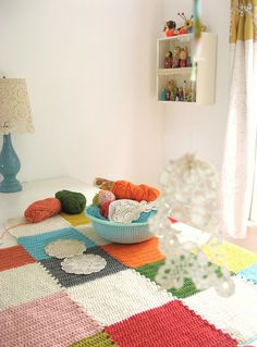 An Ordinary Extraordinary Crochet Blanket from Dottie Angel on Flickr
