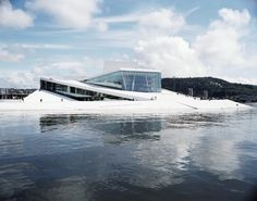 Snohetta's Norwegian National Opera and Ballet. (Courtesy Snohetta)