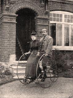 Sir Conan Doyle and wife, 1892