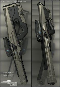 SAIGA - rifle concept by peterku.deviantart.com on @DeviantArt