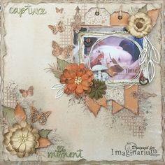 Imaginarium Designs: Autumn Layouts & a Summer Card by Amy