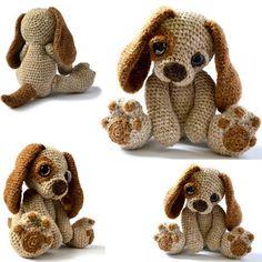 Moss The Puppy Crochet Pattern