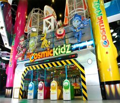 Theming and Decoration - Space Adventure Kiosk Design, Booth Design, Indoor Amusement Parks, Princess Bedrooms, Indoor Playground, Deco, Arcade, Cheers, Playroom