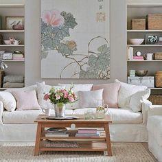 Genial Pastel Living Room
