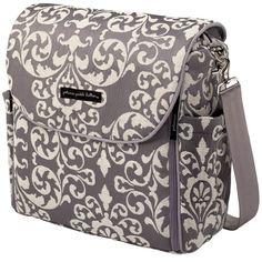 Petunia Pickle Bottom Earl Grey Boxy Backpack : Messenger Diaper Bags at PoshTots
