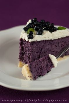 Blueberry cheesecake    Sounds delicious! I love blueberries.