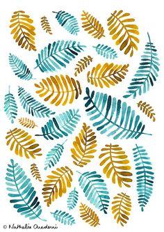 Palm Leaves by Nathalie Ouederni – www.studiokalumi.com