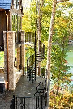 Overlooking Keowee Springs in South Carolina....