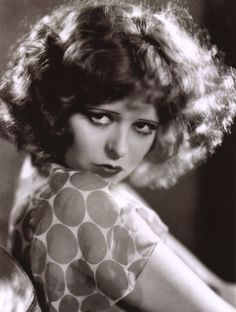 """""""I never had any clothes...and lots of times didn't have anything to eat. We lived. That's about all. Girls shunned me because I was so poorly dressed."""" -Clara Bow (Wikipedia)"""