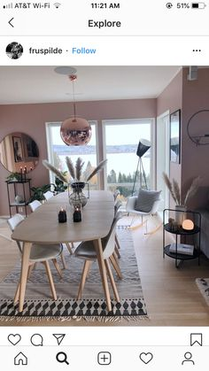 home sala Tolle Esszimmer-Inspiration Tolle Esszimmer-Inspiration The post Tolle Esszimmer-Inspiration appeared first on Wohnen ideen. Home Living Room, Interior Design Living Room, Living Room Decor, Bathroom Interior, Küchen Design, House Design, Dining Room Inspiration, Dining Room Design, Cozy House