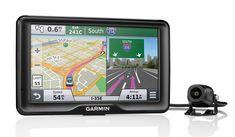 Garmin's latest GPS navigator has a backup camera for avoiding fender benders // Amber