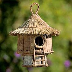 This birdhouse, made of sustainably harvested materials and sold by Fair Trade Winds, is produced through the Community Crafts Association (CCA) of the Philippines. The CCA assists community-based artisans by providing training programs and markets.