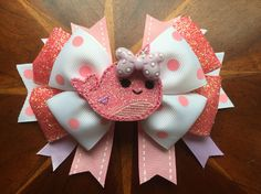 Narwhal hair bows! Pick your favorite from the 4 different styles I have made…