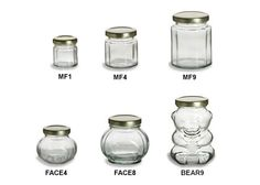 Faceted Jars