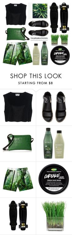 """Greenery"" by emcf3548 ❤ liked on Polyvore featuring Ava Catherside, H&M, Orla Kiely, KEEP ME, Redken and Dries Van Noten"