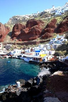 Santorini, Greece: Amoudi Bay | Curated pins by @sommerswim