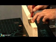 Carpintería: Poner bisagras de libro (BricocrackTV) - YouTube