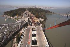 Oakland Bay Bridge, USA is a new 1.6km crossing, which includes a unique self-anchored, single pylon suspension bridge.