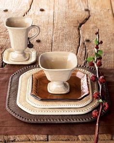 GG Collection  Versailles  Dinnerware thestylecure.com & Signature Living Dinnerware Signal Hill Burgundy 16 Piece Set | For ...