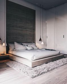 44 Stunning Minimalist Modern Master Bedroom Design Best Ideas is part of Minimalist bedroom design - Would you like to design the perfect modern master bedroom Do you find that you have plenty of space to […] Modern Bedroom Design, Master Bedroom Design, Home Decor Bedroom, Modern Bedrooms, Diy Bedroom, Bedroom Loft, Bedroom Inspo, Bedroom Design Minimalist, Master Bedrooms